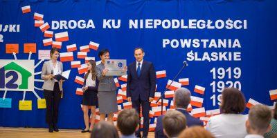 Przemówienie Ambasadora Francji w SP 12