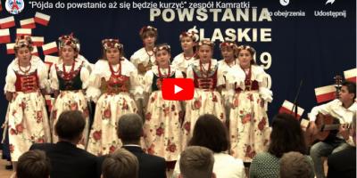 [Video]  Piosenki z Powstań Śląskich – występ zespołu Kamratki z Tworoga w SP 12