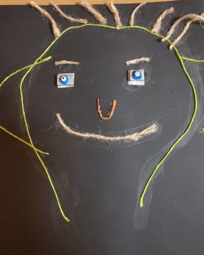 autoportret ze sznurka Federico Di Blasio, 5B